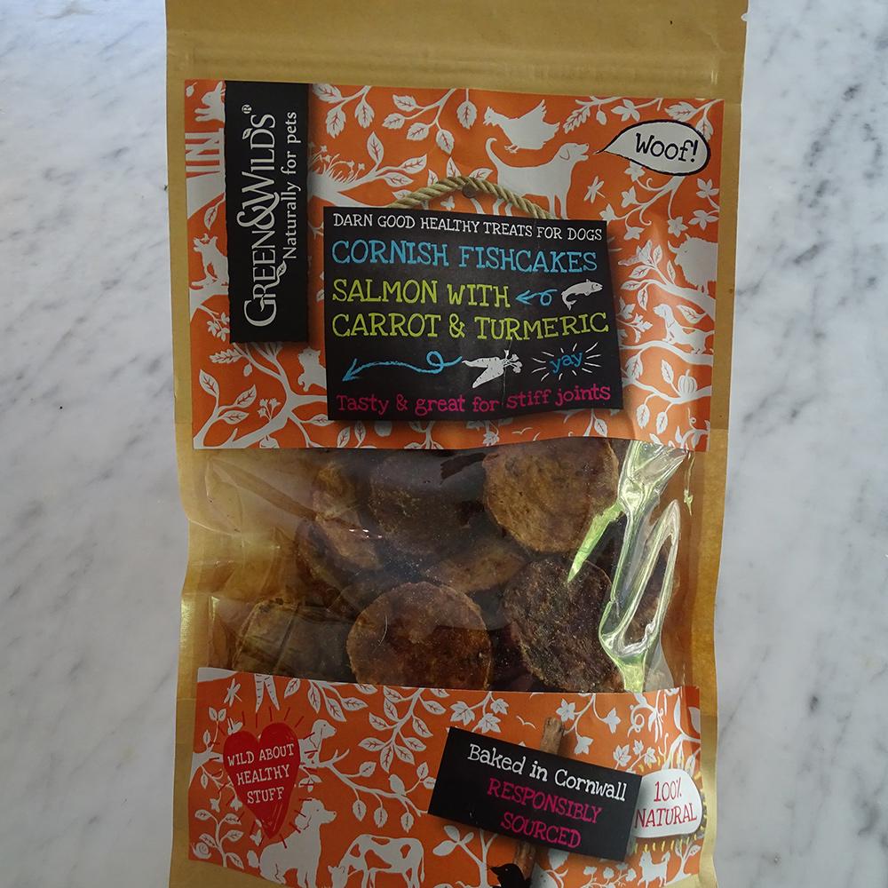 Lavender House Salmon Carrot Turmeric Fishcake Dog Treats