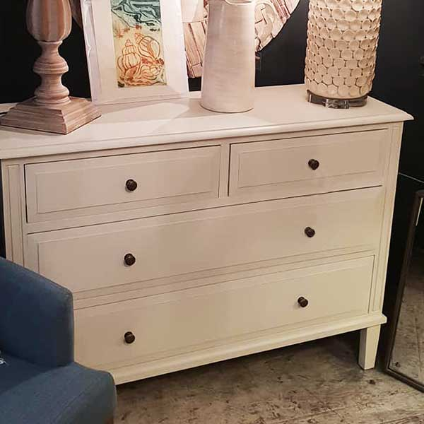 Cream Chest of Drawers