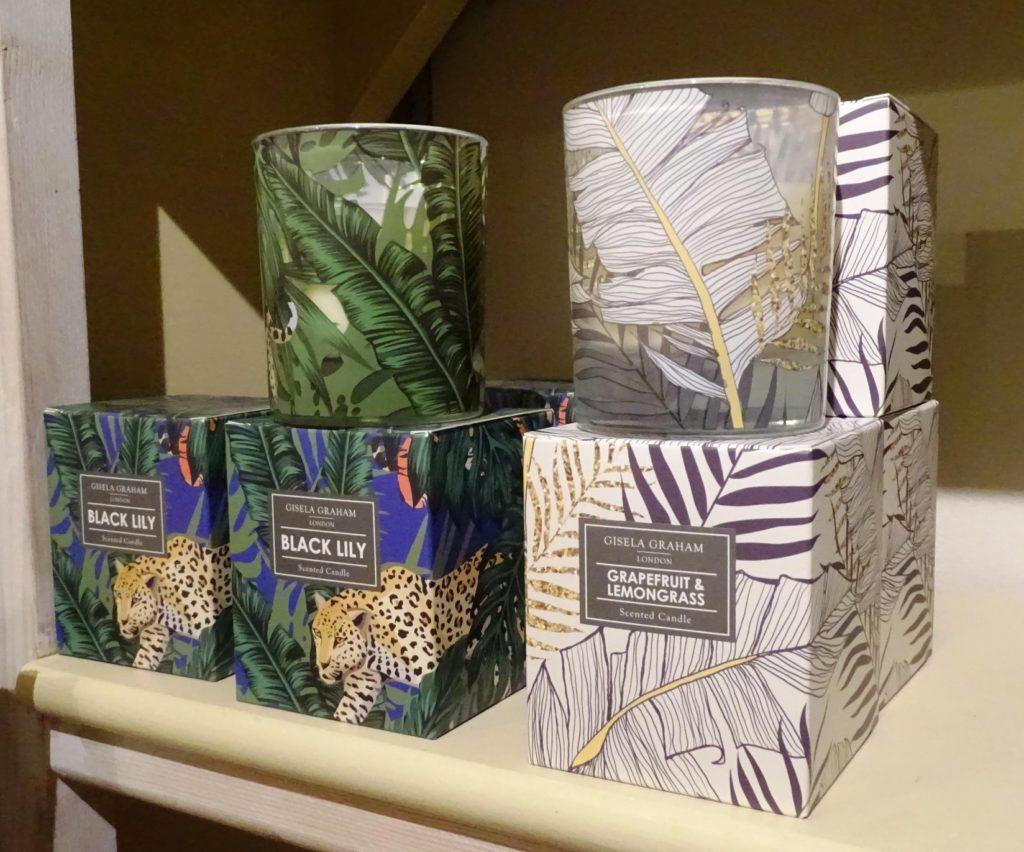 Lavender House Gisela Graham Scented Candles