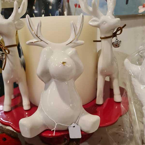 Reindeer Table Ornaments
