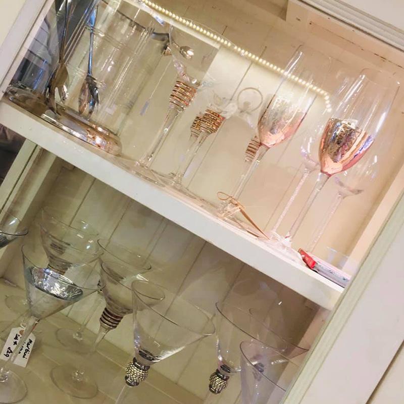 Lavender Glassware