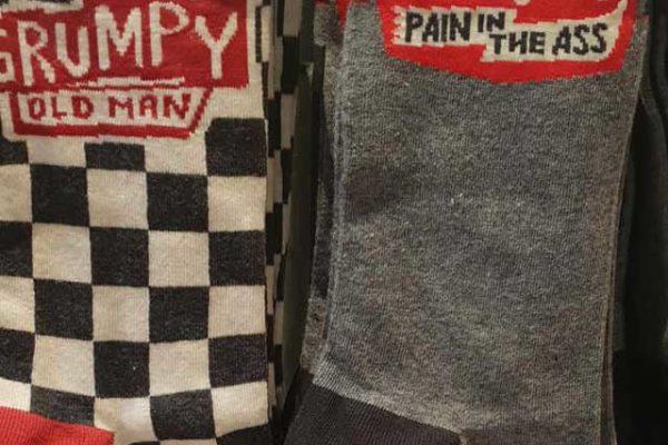 Funny Slogan Socks